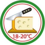1.Std vor Verzehr aus dem Kühlschrank
