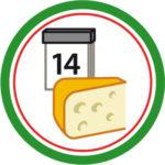 Käse am Stück ist länger haltbar